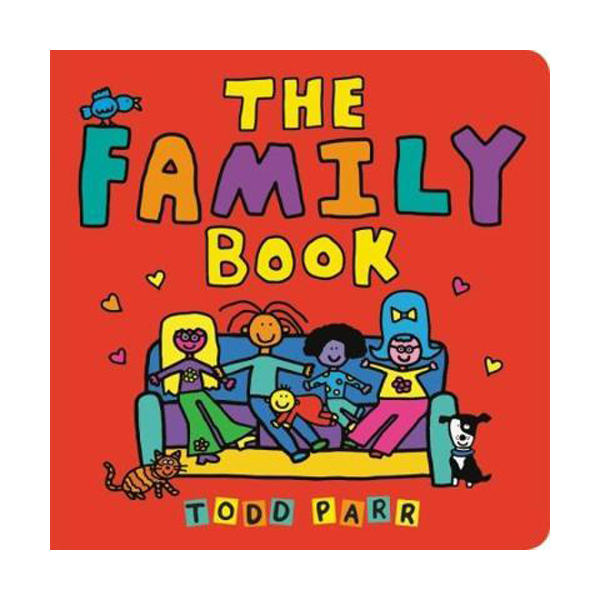 [파본:특A]The Family Book (Board book)