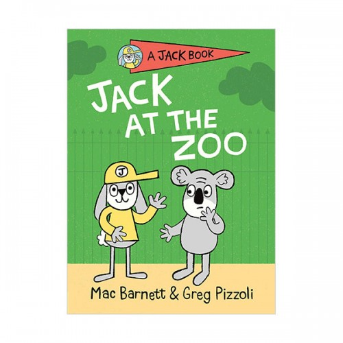 [파본:특A]A Jack Book #05 : Jack at the Zoo (Hardcover)