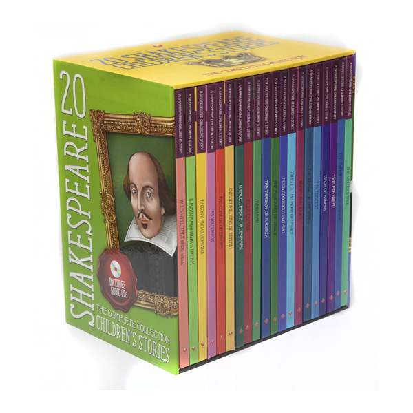 ★가격인하★[특가세트] Shakespeare Childrens Stories 20종 Book & CD 세트 (Hardcover+CD)