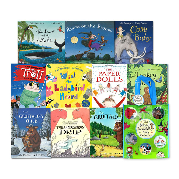 [★보조가방증정/특가세트] Julia Donaldson Picture Book Collection - 10 Books Set (Paperback, 영국판)