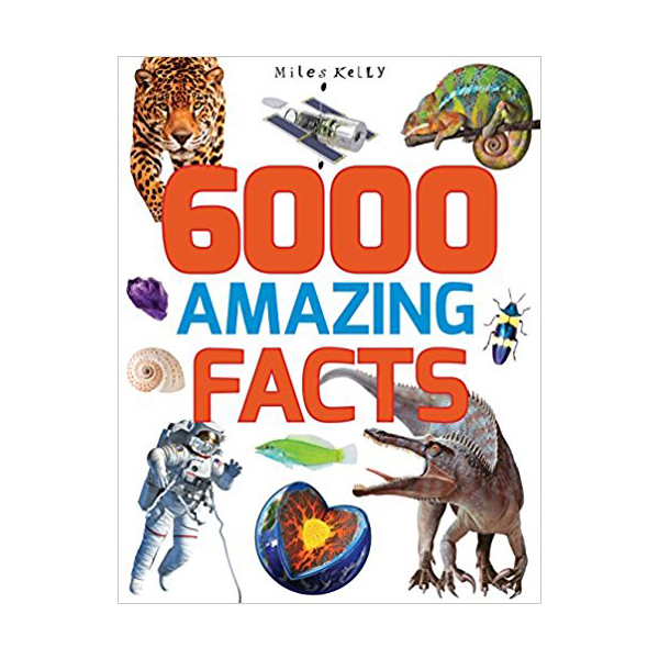 [특가] 6000 Amazing Facts (Paperback, 영국판)