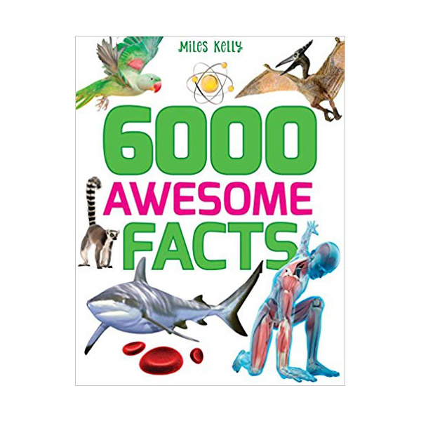 [특가] 6000 Awesome Facts (Paperback, 영국판)