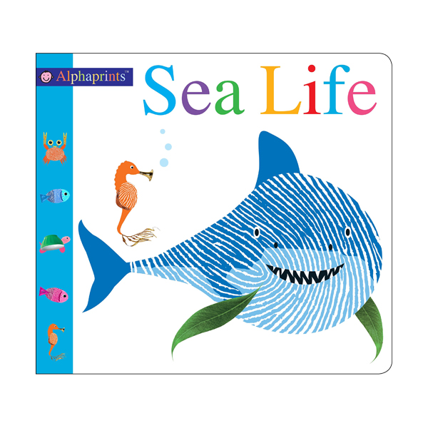 [특가] Alphaprints Sea Life (Board book)