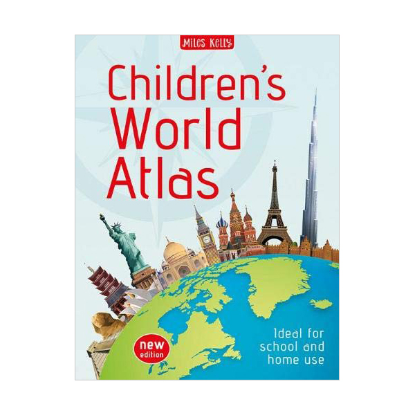 [특가] Children's World Atlas New Edition (Paperback)