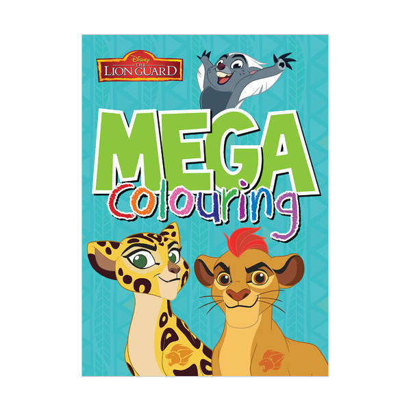 [특가] Disney Junior - The Lion Guard Mega Colouring (Paperback, 영국판)