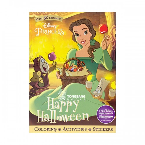 [특가] Disney Princess Happy Halloween (Paperback)