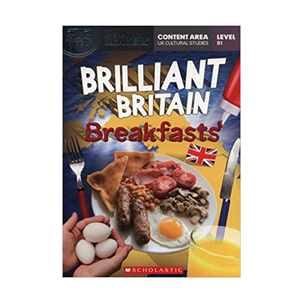 [특가] DVD Readers : Brilliant Britain Breakfasts (Book & DVD)