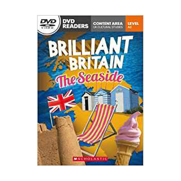[스콜라스틱] [특가] DVD Readers : Brilliant Britain Seaside (Book & DVD)