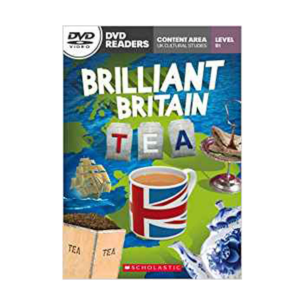 [특가] DVD Readers : Brilliant Britain Tea (Book & DVD)