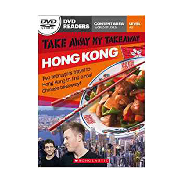 [특가] DVD Readers : Take Away My Take Away Hong Kong (Book & DVD)