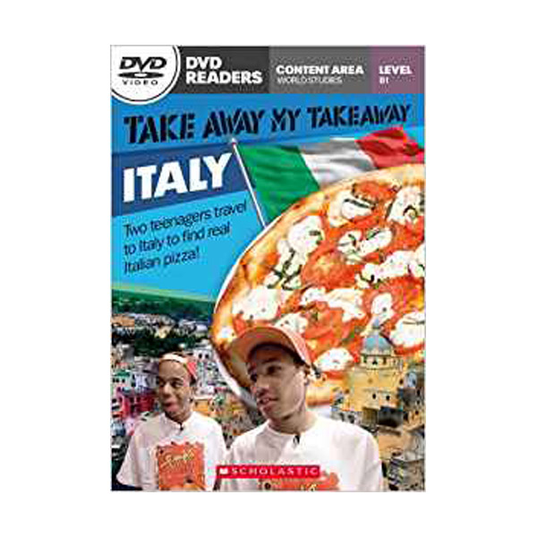 [특가] DVD Readers : Take Away My Takeaway Italy (Book & DVD)