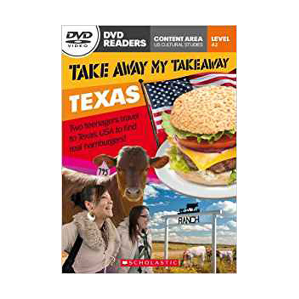 [스콜라스틱] [특가] DVD Readers : Take Away My Takeaway Texas (Book & DVD)