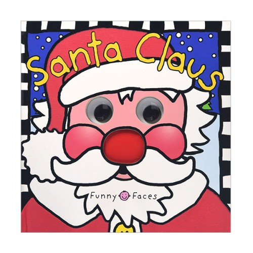 [특가] Funny Faces Santa Claus (Board Book)