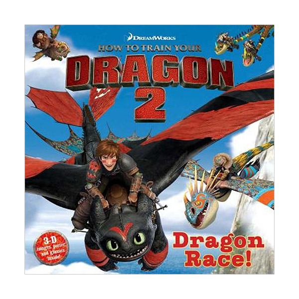 [특가] How to Train Your Dragon 2 : Dragon Race! (Paperback)