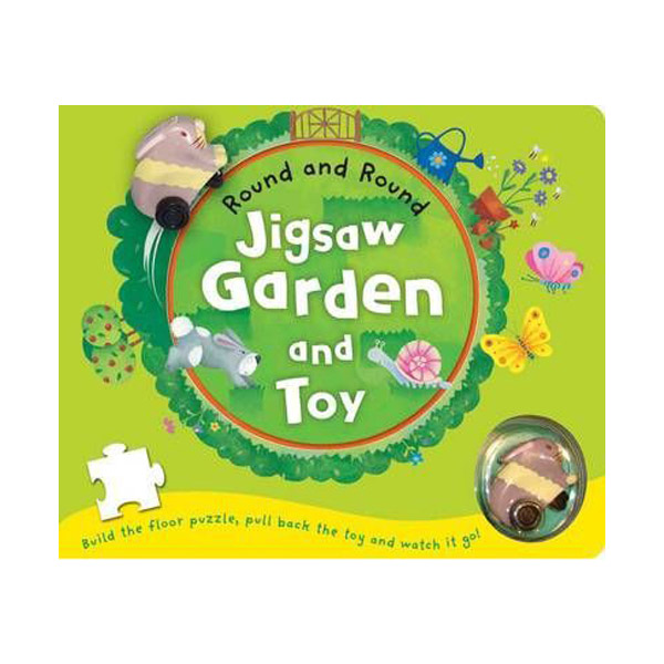 [특가] Jigsaw Garden and Toy (Board book)