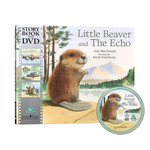 [베스트★] [특가] Little Beaver And The Echo (Paperback + DVD, 영국판)