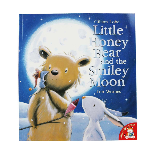 [특가] Little Honey Bear and the Smiley Moon (Paperback, 영국판)