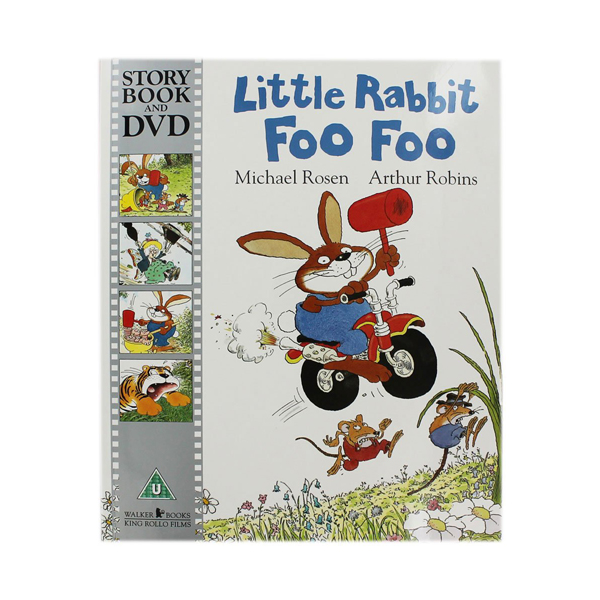 [베스트★] [특가] Little Rabbit Foo Foo (Book & DVD, 영국판)