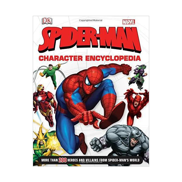 [특가] Marvel: Spider-Man Character Encyclopedia (Hardcover, 영국판)