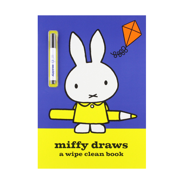 [특가] Miffy Draws : Wipe Clean Activity Book (Paperback, 영국판)
