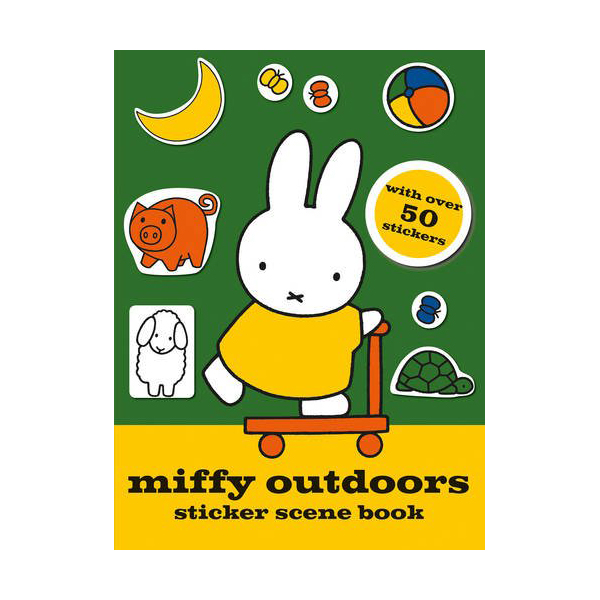 [특가] Miffy Outdoors Sticker Scene Book (Paperback, 영국판)
