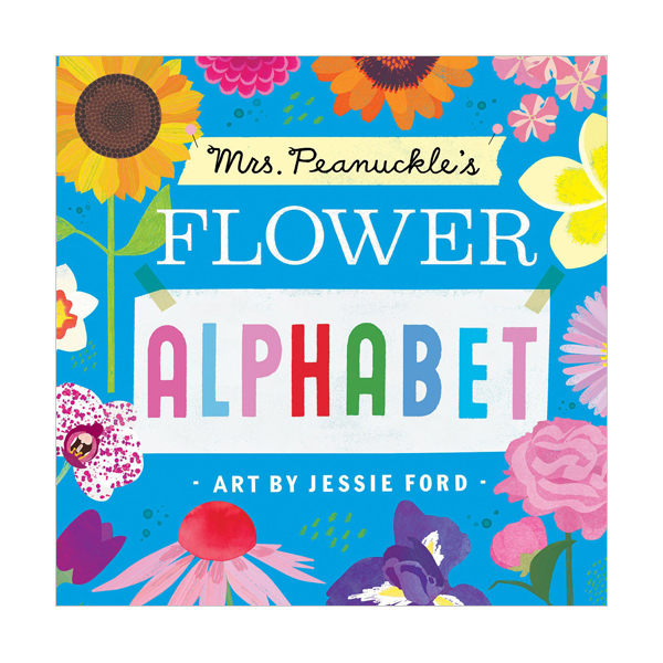 [특가] Mrs. Peanuckle's Flower Alphabet (Board book)