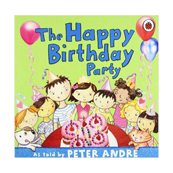[특가] Peter Andre : A Happy Birthday Party (Paperback, 영국판)