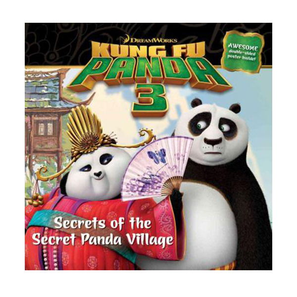 [특가] Secrets of the Secret Panda Village (Kung Fu Panda 3 Movie (Paperback)