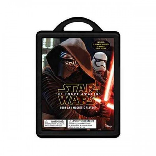 [특가] Star Wars : The Force Awakens : Magnetic Book and Play Set (Hardcover)