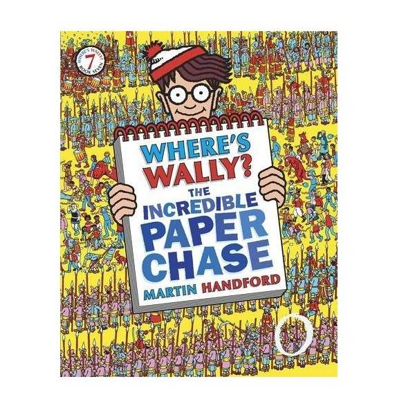 [특가] Where's Wally? #07 : The Incredible Paper Chase (Paperback, 영국판)