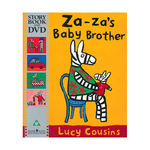 [특가] Za-Za's Baby Brother (Book & DVD, 영국판)
