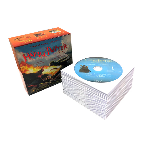[특가세트/영국판] Harry Potter #04-5 : Audio Collection (Audio CD)(도서미포함)