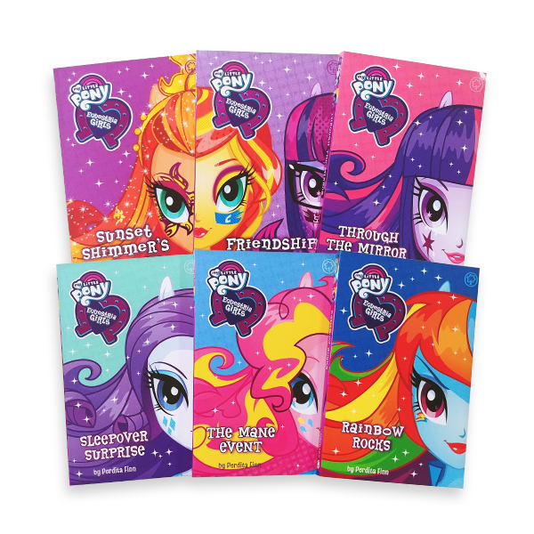 [특가세트/영국판] My Little Pony Equestria Girls Collection (Paperback, 6종)