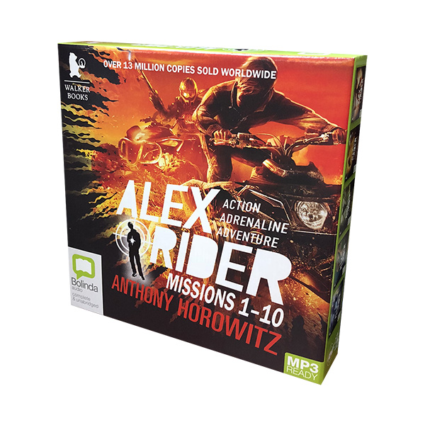 [특가세트] Alex Rider Missions 1-10 MP3 CD Collection (10 MP3 CD, 영국판)