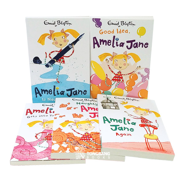 [특가세트] Amelia Jane Collection : 5 Books (Paperback, 영국판) (CD없음)