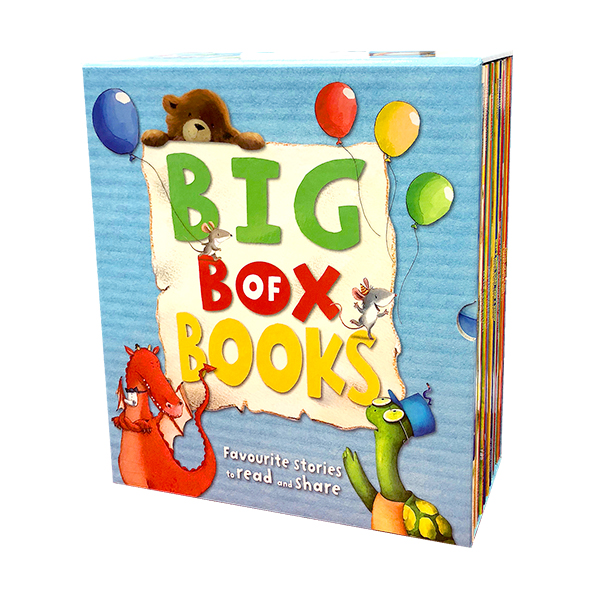 [특가세트] Big Box of Books Collection 20 Books Box Set (Paperback, 영국판)