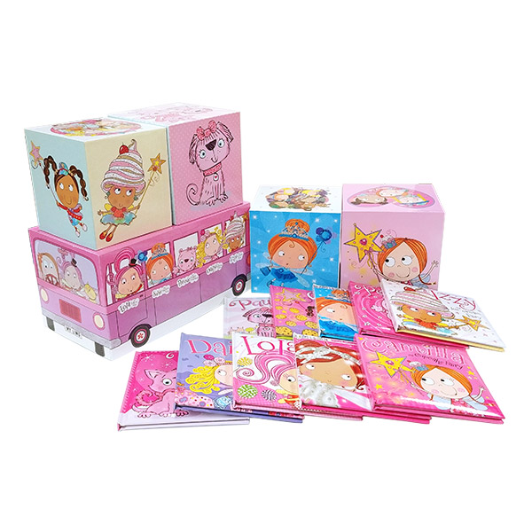[특가세트] Camilla and Friends: Pink Limo Collection - 10 Books (Hardcover)