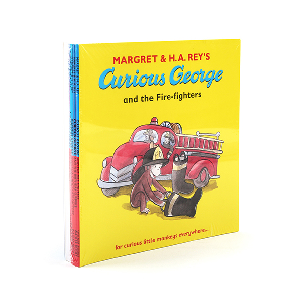 [특가세트] Curious George Collection 10종 세트 (Paperback, 영국판)