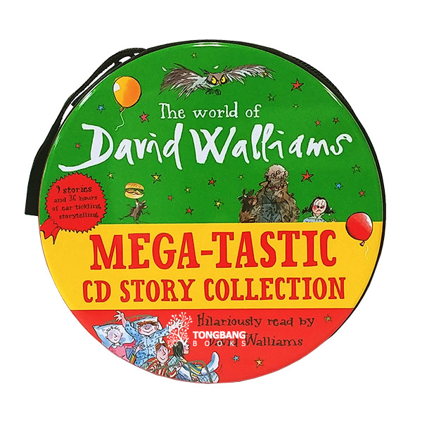 [특가세트] David Walliams Mega-tastic CD Story Collection - 32 CDs (Audio CD, 영국판)