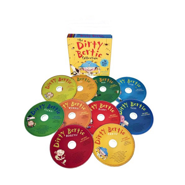 [특가세트] Dirty Bertie 10 Audio CD Collection
