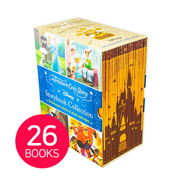 [특가세트] Disney Storybook Collection 26 Books Boxed Set (Paperback, 영국판)