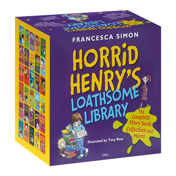[특가세트] Horrid Henry's Loathsome Library Collection 30 Books Box Set (Paperback)