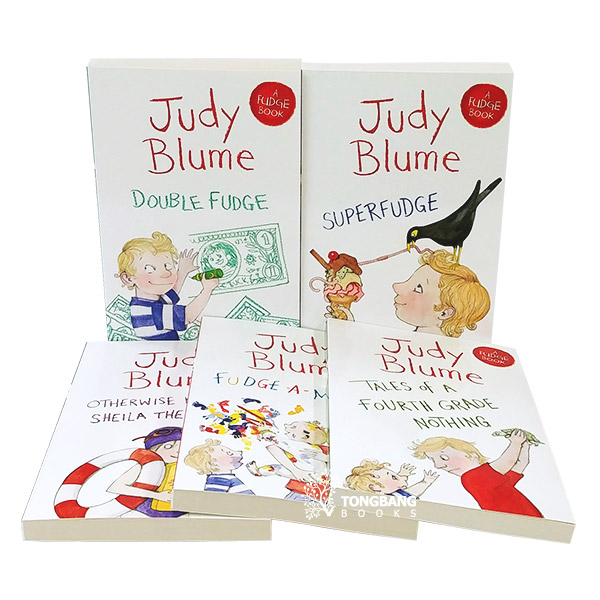 [특가세트] Judy Blume's Fudge Collection - 5 Books Set (Paperback, 영국판)