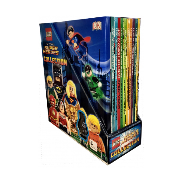 [특가세트] Lego DC Comics Super Heroes 10 Book Set (Hardcover, 10권)