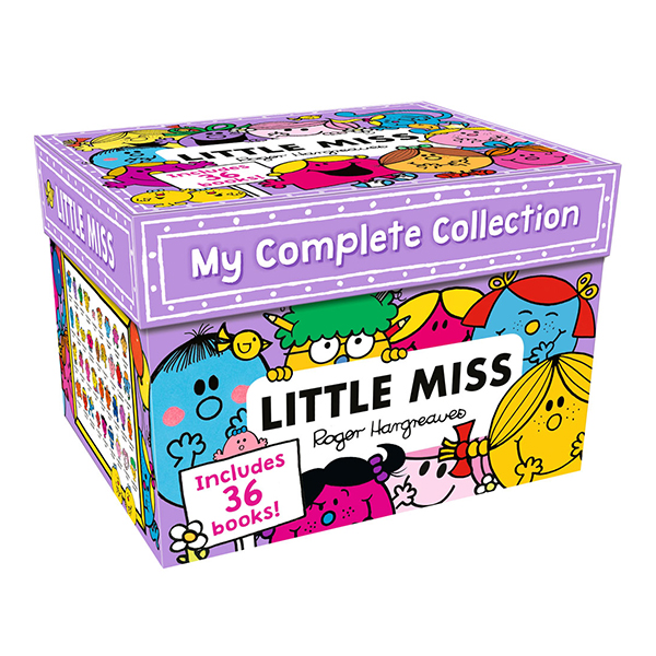 [특가세트] Little Miss : My Complete Collection 36 Books Box Set (Paperback, 영국판)