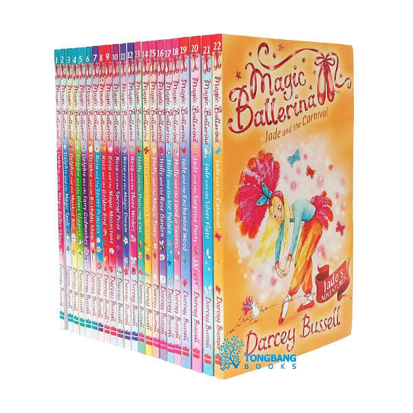 [특가세트] Magic Ballerina Collection - 22 Books Set (Paperback, 영국판)