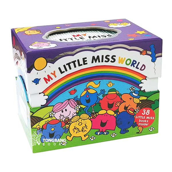 [특가세트] My Little Miss World Collection 38 Books Box Set (Paperback, 영국판)