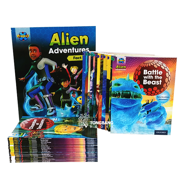 [특가세트] Oxford Reading Tree : Project X Alien Adventures 31 Books Collection (Paperback, 영국판)(CD미포함)