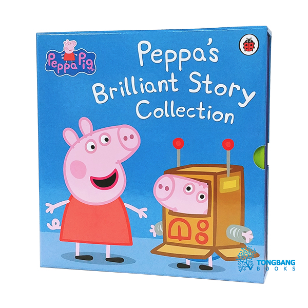 [특가세트] Peppa Pig 5종 세트 : Peppa's Brilliant Story Collection (Hardcover, 영국판)