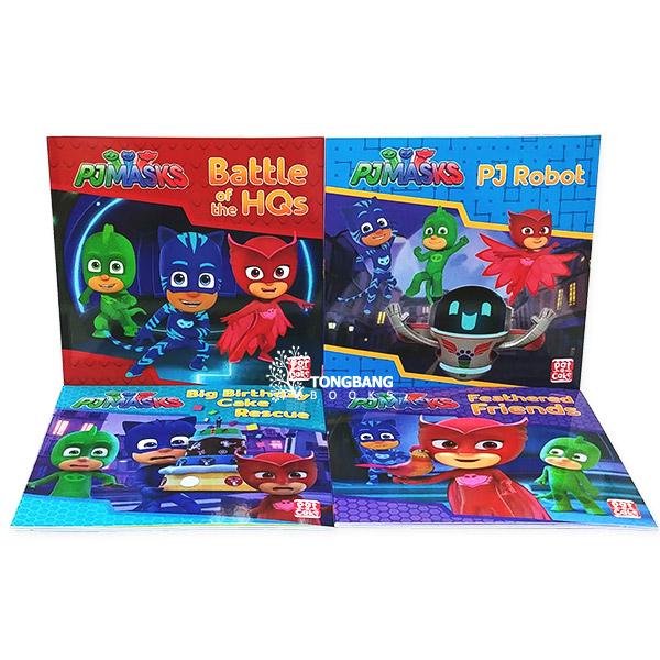 [특가세트] PJ masks Collection - 4 Books Set (Paperback, 영국판)